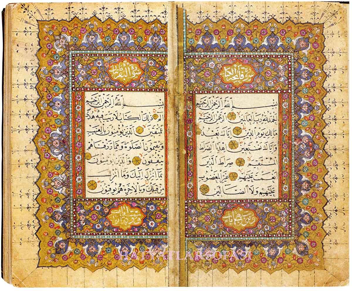 Kur'anlar ve Diğer Kitaplar | Hattatlar Sofası