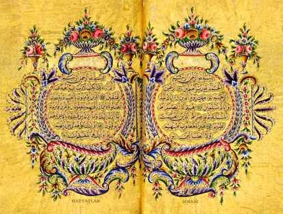 Hattat Ali Vasfi Efendi-Hattatlar Sofası