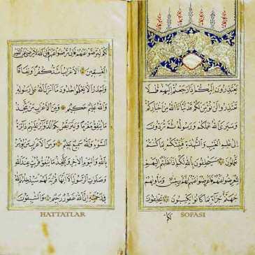 Hattat mehmed Ali Ulvi Efendi-Hattatlar Sofası