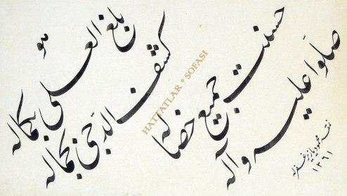 Hattat Mahmud Yazır-Hattatlar Sofası