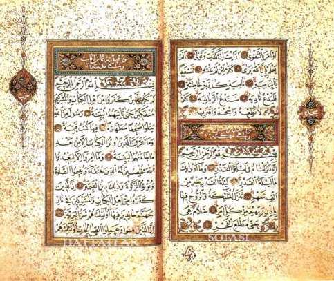 Hattat Sarı Yahyâ Fahreddîn Efendi-Hattatla Sofası