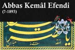 Hattat Abbas Kemal Efendi, Hayatı ve Eserleri