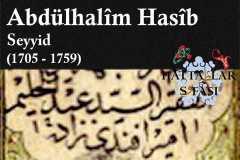Hattat Emir Efendizade Seyyid Abdülhalim Hasib Efendi, Hayatı ve Eserleri