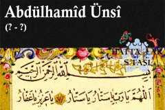 Hattat Abdülhamid Ünsi Efendi, Hayatı ve Eserleri