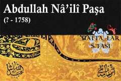 Hattat Abdullah Naili Paşa, Hayatı ve Eserleri