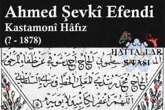 hattat-kastamonulu-hafız-ahmed-şevki-efendi