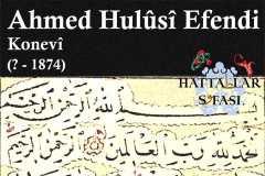 Hattat Konyalı Ahmed Hulusi Efendi, Hayatı ve Eserleri