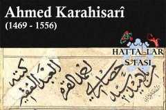 Hattat Ahmed Karahisari, Hayatı ve Eserleri