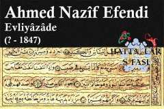 ahmed-nazif-efendi-evliyazade