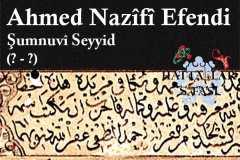 Hattat Şumnulu Seyyid Ahmed Nazifi Efendi, Hayatı ve Eserleri