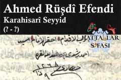 hattat-karahisari-seyyid-ahmed-rüşdi-efendi