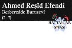 hattat-berberzade-bursalı-ahmed-reşid-efendi