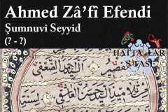 Hattat Şumnulu Seyyid Ahmed Zafi Efendi, Hayatı ve Eserleri