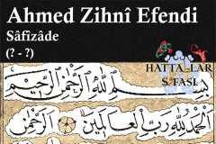 hattat-safizade-ahmed-zihni-efendi