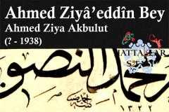 hattat-ahmed-ziyaeddin-bey-ahmed-ziya-akbulut-hat-eserleri-galerisi