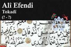 Hattat Tokatlı Ali Efendi, Hayatı ve Eserleri