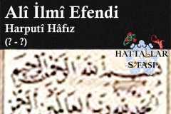 hattat-harputi-hafız-ali-ilmi-efendi