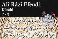 Hattat Kütahyalı Ali Razi Efendi, Hayatı ve Eserleri