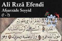 hattat-afşarzade-seyyid-ali-rıza-efendi