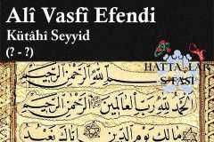 hattat-kütahyalı-seyyid-ali-vasfi-efendi
