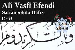 hattat-safranbolulu-hafız-ali-vasfi-efendi