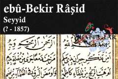 hattat-seyyid-ebubekir-raşid-efendi