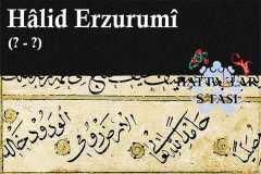 Hattat Halid Erzurumi, Hayatı ve Eserleri