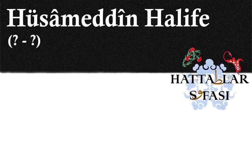hattat-hüsameddin-halife