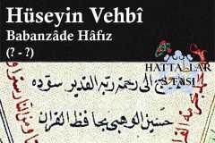 hattat-babanzade-hafız-hüseyin-vehbi-efendi