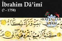 Hattat İbrahim Daimi, Hayatı ve Eserleri