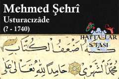 usturacızade-mehmed-şehri-efendi-hat-eserleri-galerisi