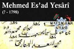 hattat-mehmed-esad-yesari