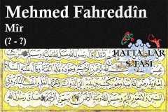 hattat-mir-mehmed-fahreddin-efendi