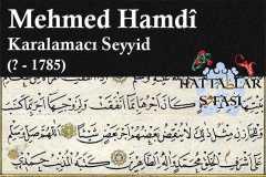 hattat-karalamacı-seyyid-mehmed-hamdi-efendi