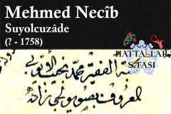 mehmed-necib-efendi-suyolcuzade