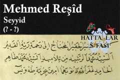 hattat-seyyid-mehmed-reşid-efendi