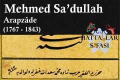 hattat-arapzade-mehmed-sadullah-efendi