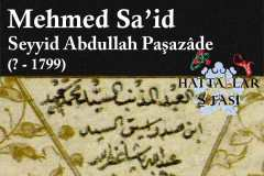 hattat-seyyid-abdullah-paşazade-mehmed-said-efendi