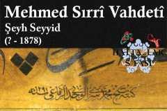 şeyh-seyyid-mehmed-sırrı-vahdeti-efendi-hat-eserleri-galerisi
