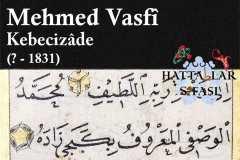 hattat-kebecizade-mehmed-vasfi-efendi-kuran