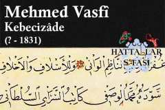 hattat-kebecizade-mehmed-vasfi-efendi