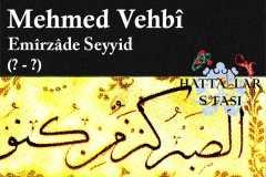 hattat-emirzade-seyyid-mehmed-vehbi-efendi