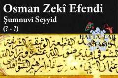 hattat-şumnulu-seyyid-osman-zeki-efendi