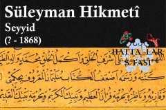 hattat-seyyid-süleyman-hikmeti-efendi