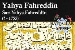 sarı-yahya-fahreddin-efendi-hat-eserlseri-galerisi